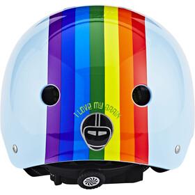 Nutcase Street Cykelhjälm blå/flerfärgad